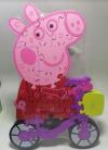 Εκπαιδευτικο Παιχνιδι Ξυλινο Puzzle Peppa (OEM)