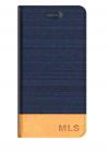 ΔΕΡΜΑΤΙΝΗ BOOK MLS Fashion 8C 4G Μπλε
