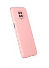 EΥΚΑΜΠΤΗ TPU ΘΗΚΗ ΠΙΣΩ ΠΛΑΤΗ ΓΙΑ ΤΟ Xiaomi NOTE 9S / NOTE 9 PRO MAX παστελ ροζ (ΟΕΜ)