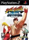 PS2 GAME - Street Fighter Alpha Anthology (MTX)