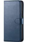 ΘΗΚΗ ΔΕΡΜΑΤΙΝΗΣ ΓΙΑ Samsung Galaxy a91 S10 lite Σκουρο Μαύρο (OEM)
