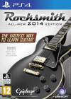PS4 GAME - Rocksmith 2014 & Real Tone Cable