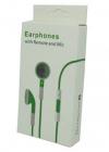 Πράσινα Stereo Earphones and MIC Handsfree με ένταση για iPhone 3GS & 4 / 4S (OEM)