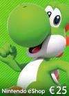 Nintendo eShop Card 25 EUR Key