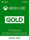XBox 360 Live 12 Μήνες XBox360 gold card