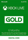 Xbox LIVE 6 Month Gold Subscription (Serial Code)