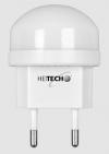 Heitech 04002225 LED Φωτάκι Νυκτός - Άσπρο