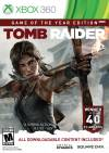 XBOX 360 GAME - Tomb Raider Game Of The Year Edition (MTX)