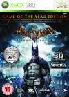 XBOX 360 GAME - Batman Arkham Asylum GOTY Edition (ΜΤΧ)