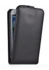 Δερμάτινη Θήκη Flip για BlackBerry Q10 Μαύρο (OEM)