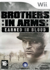 WII GAME - Brothers In Arms Earned in Blood (MTX)
