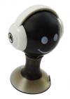 iphone Smile Earphones 1x 3.5mm stereo male to 2x 3.5mm stereo female Splitter Black