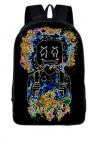 Marshmello DJ Music des29 Τσάντα πλάτης αδιάβροχη (ΟΕΜ)