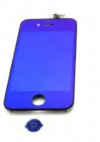 iPhone 4S Μεταλλικό Μπλέ Full Kit LCD + Touch Screen + Frame Assembly + Home Button
