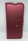 Δερμάτινη Θήκη Wallet με κούμπωμα Για Xiaomi Redmi 8 - Μπορντό (OEM)