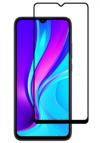 Full Face  Full Glue Αντιχαρακτικό Γυαλί 11H Tempered Glass for Xiaomi Redmi 9AT Black (oem)