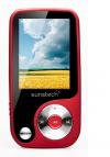 Sunstech Thorn - MP3 / MP4 Player (χωρητικότητα 4GB), κόκκινο