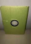 Δερμάτινη Θήκη Περιστρεφόμενη για το Samsung Galaxy Note 10.1 SM-P600 (2014 Edition) Πράσινο (OEM)