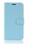 Δερμάτινη Θήκη Πορτοφόλι Με Πίσω Πλαστικό Κάλυμμα για Vodafone Smart Prime 7 VFD600 CIEL