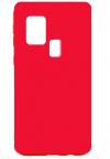 Θήκη ματ tpu σιλικονη μαλακή πίσω κάλυμμα για Samsung Galaxy M31 - σομον χρωμα  (oem)