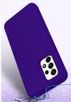 EΥΚΑΜΠΤΗ TPU ΘΗΚΗ ΠΙΣΩ ΠΛΑΤΗ  για Samsung A52 5G -  Μπλε  (ΟΕΜ)