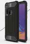 Rubber Armor σκληρή Θήκη σιλικόνης TPU Μαύρη για Samsung A9 2018 (ΟΕΜ)