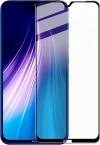 Πλήρες τζάμι Tempered Glass για Xiaomi Redmi note 8T 21D Full Glue - Μαύρο (ΟΕΜ)