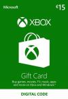 Microsoft Giftcard XBOX Live 15 Euro | Download K4W-02559 -