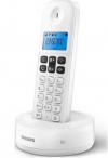 Philips D161 Ασύρματο Τηλέφωνο με ανοιχτή ακρόαση Λευκό