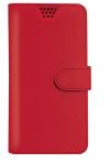Δερμάτινη Θήκη Πορτοφόλι για TP-LINK Neffos X1 Lite Κοκκινο  (BULK) (OEM)