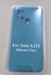 Θήκη Σιλικόνης για Samsung A21S Πρασινο Σκουρο  (ΟΕΜ)