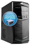 Powerlogic Futura Neo 100XV PC Case με Τροφοδοτικό 450W Γκρι FUTURANEO100XVGM