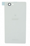 Sony Xperia Z1 Compact D5503 - Καπάκι Μπαταρίας Λευκό