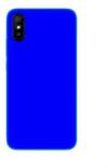 EΥΚΑΜΠΤΗ TPU ΘΗΚΗ ΠΙΣΩ ΠΛΑΤΗ ΓΙΑ ΤΟ Xiaomi Redmi 9A  μπλε εντονο (ΟΕΜ)