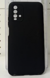 Θήκη ενισχυμενη ματ TPU σιλικονη  πίσω κάλυμμα για XIAOMI Redmi  9T Μαυρο  (oem)