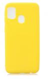 Θήκη Σιλικόνης για Samsung A21S  Κιτρινο (ΟΕΜ)