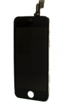 iPhone 5C Complete LCD Οθόνη With Digitizer Μαύρο
