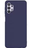 EΥΚΑΜΠΤΗ TPU ΘΗΚΗ ΠΙΣΩ ΠΛΑΤΗ ΓΙΑ ΤΟ SAMSUNG  GALAXY A32  ΜΠΛΕ ΣΚΟΥΡΟ  (ΟΕΜ)