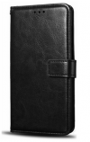 Motorola Moto G4 Δερμάτινη Θήκη Πορτοφόλι με Πλαστικό Πίσω Κάλυμμα Μαύρο (OEM)