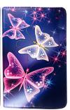 Δερμάτινη θήκη για Samsung Galaxy Tab A 10.5 T590 T595 με πεταλούδες (OEM)