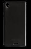 Αυθεντική Θήκη Πίσω Κάλυμμα Σιλικόνης για MLS iQTalk Twist (iQ0705) Διαφανές Μαύρο