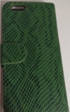 Apple iPhone 6 - Θήκη Book Πράσινη Snake Camouflage με κούμπωμα