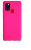 Θήκη Σιλικόνης για Samsung A21S Φουξια (ΟΕΜ)