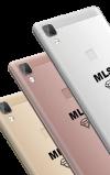 Θήκη διάφανη λεπτή σιλικόνης TPU για MLS Diamond 4G Fingerprint / 8C