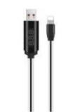 U29 LED Lighting  καλώδιο δεδομένων φόρτισης 1.2 m με πλακε TPE και υποδοχές ABS 2A υποστήριξη εξόδου της hoco.