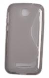 Θήκη TPU GEL S-Line για Alcatel One Touch Pop C7 (OT-7041D  Διαφανής Γκρί (ΟΕΜ)