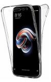 Θήκη 360° Για Xiaomi Redmi Note 8 Full Cover Διάφανη (ΟΕΜ)