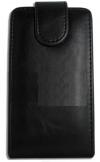 Δερμάτινη Θήκη Flip για Alcatel One Touch T΄POP OT4010D Μαύρη (ΟΕΜ)