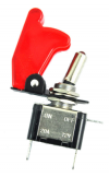Toggle Switch and Cover 12V 20A (Oem) (Bulk)
