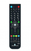 POWERTECH Προγραμματιζόμενο USB τηλεχειριστήριο 4 σε 1 PT-413